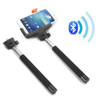 Extendable Monopod All-in-1 Selfie stick with built in bluetooth button