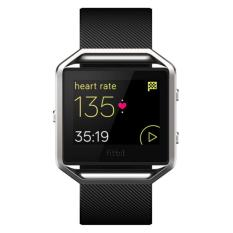 Fitbit Blaze Smart Fitness Watch, Black, Silver, Small (export)