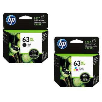 HP 63XL Black & Color Bundle pack (Black)
