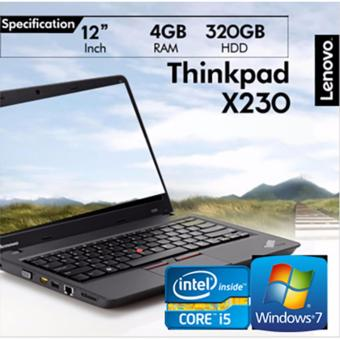 Lenovo X230 4GB RAM Intel Core i5-3rd Gen 12.5 HD (Black)