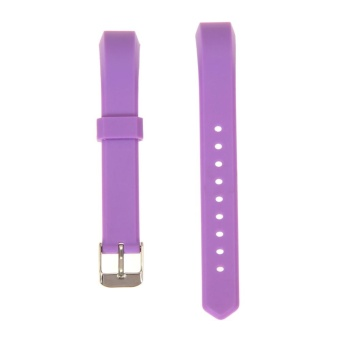 Luxury Silicone Band Strap Buckle For Fitbit Alta Replacement Color - intl