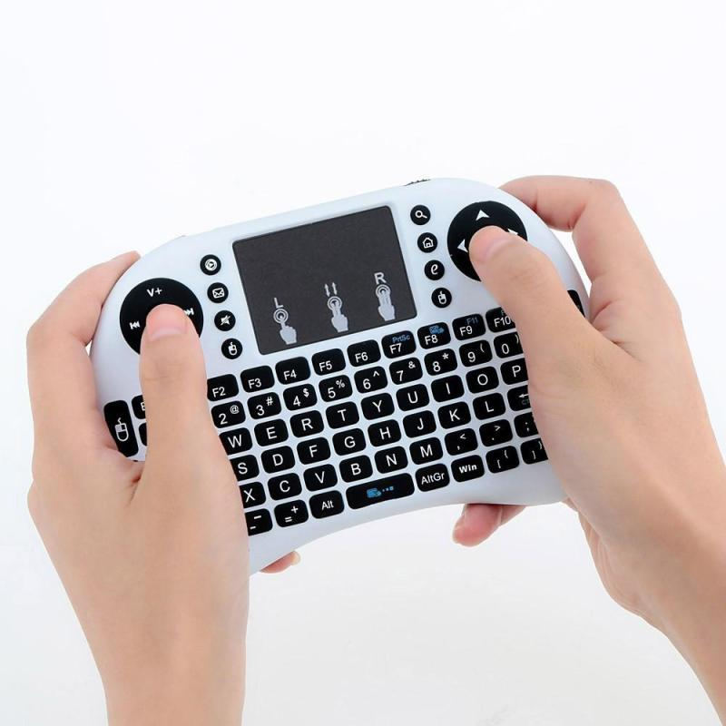 Mini 2.4G Wireless Touchpad Keyboard Air Mouse For PC Pad Android TV Box - intl Singapore