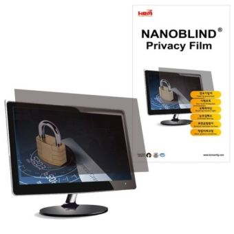 NANOBLIND 19 inch WIDE Privacy Screen Filter Film for LCD Monitor(409x256mm)