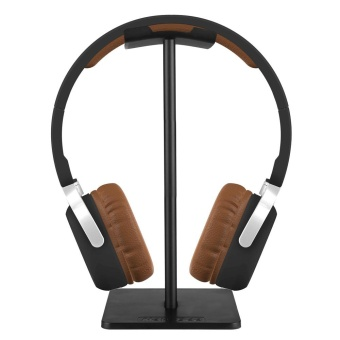 NEW BEE Simple Style Headphone Stand for Universal Headsets - Black - intl