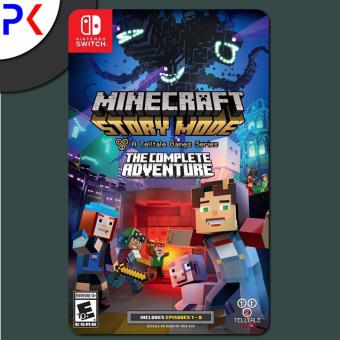 Nintendo Switch Minecraft: Story Mode - The Complete Adventure (US)