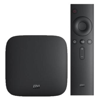 Original Xiaomi Mi Amlogic S905 Quad-Core Android 5.0 3C TV Box-Black - intl