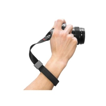 Peak Design Cuff NEW DESIGN Camera or GoPro Hero Wrist Strap (CF-BL-3 (Black))