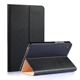 PU Leather Build-in Stand Case Cover For Huawei MediaPad T3 8.0inch - intl