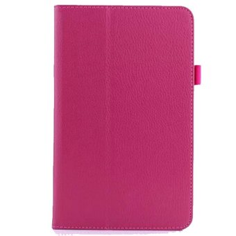 PU Leather Cover Case for Acer Iconia One 8 B1-810 Magenta