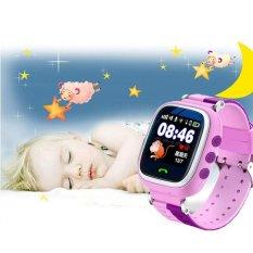 Q60 Intelligent Gps Smart Watches Phone Alarm Clock For Kids Anti-Lost - Intl