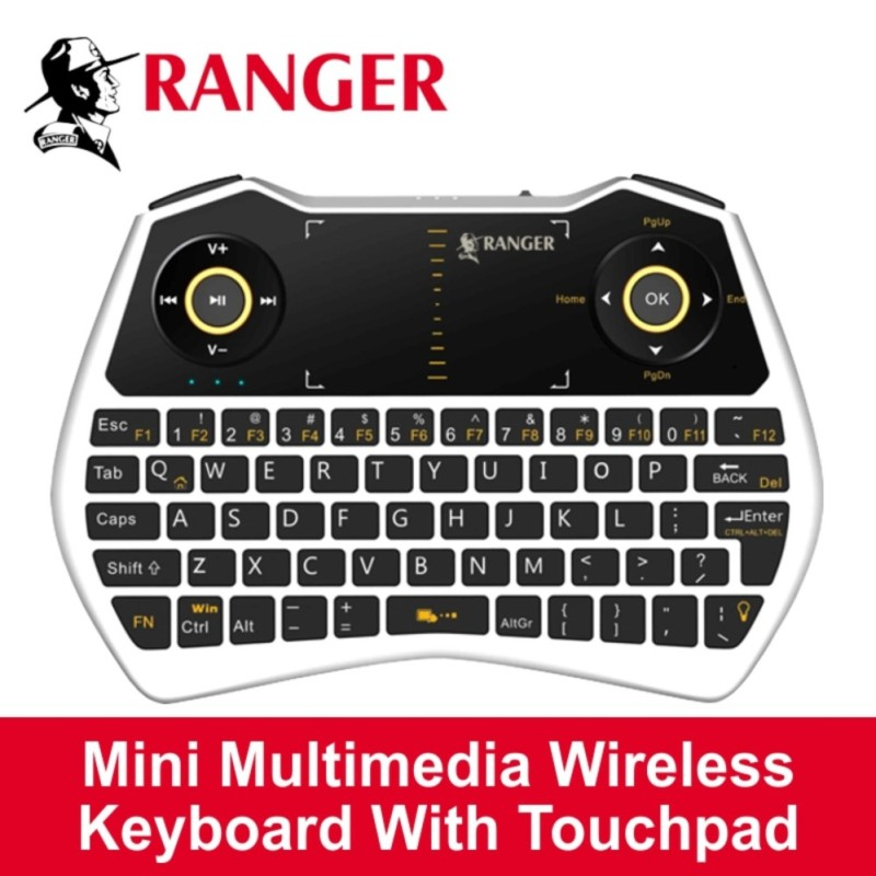 Ranger Wireless Keyboard (with backlight) Singapore