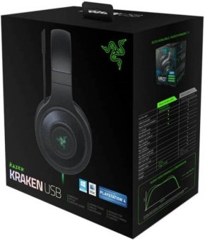 Razer Kraken USB with 7.1 Virtual surround sound Gaming Headset(For PC/MAC)