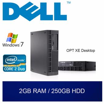 Refurbished Dell OPT XE Desktop / C2D / 2GB RAM / 250GB HDD / W7 /1mth Warranty