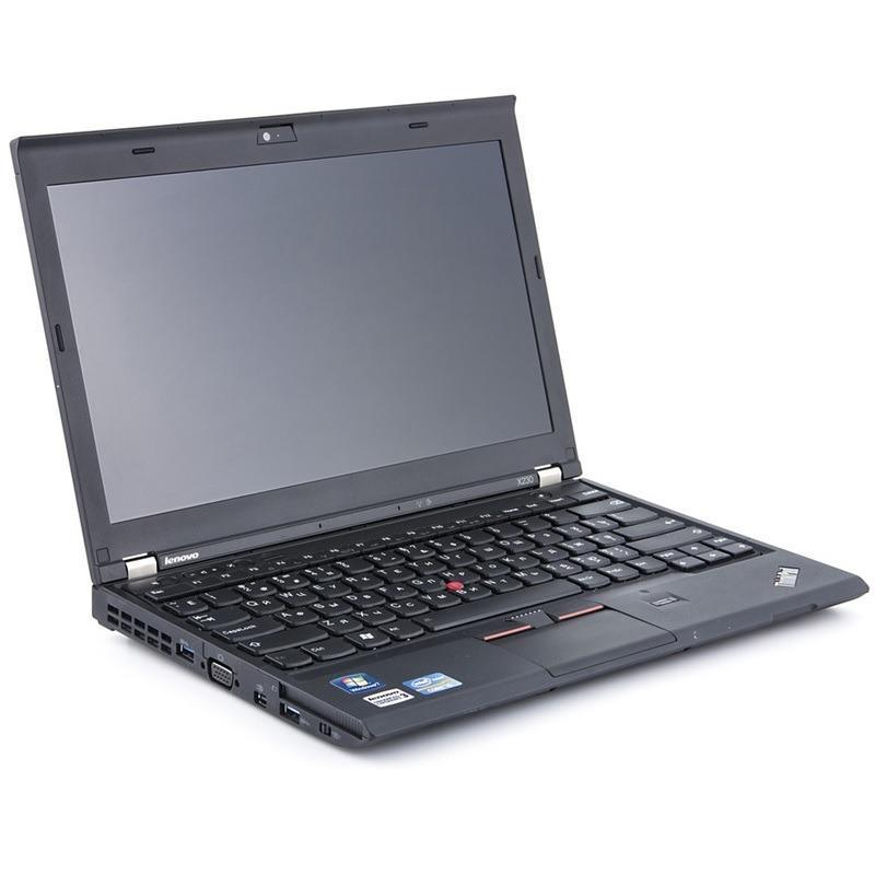 (Refurbished) Lenovo X230 12.5 (3rd Gen) Core i5 4GB 256GB SSD Windows 7 Pro 64 bit