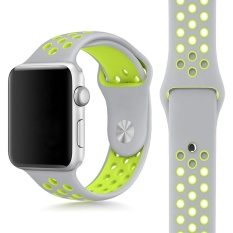 Replacement Silicone Sports Band Bracelet Strap For Apple Watch 38mm - Intl