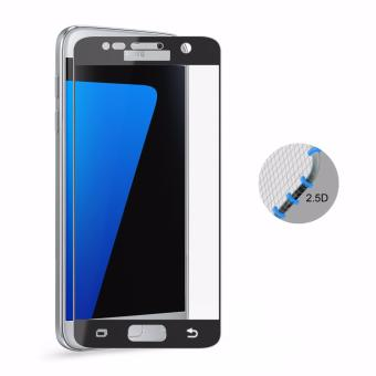 Samsung S7 Full Cover Tempered Glass (Black) Single Pack (1 Piece)