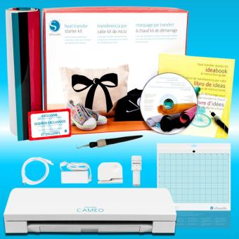 Silhouette Cameo 3 Heat Transfer Starter Kit Bundle
