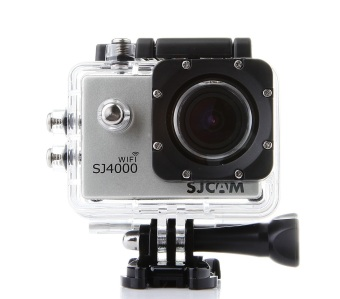 SJCAM SJ4000 WIFI Model 12MP Full HD Action Camera (Silver)