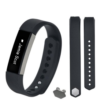 Small Size Replacement Wristband Band Strap + Buckle For FitbitAlta BK - intl