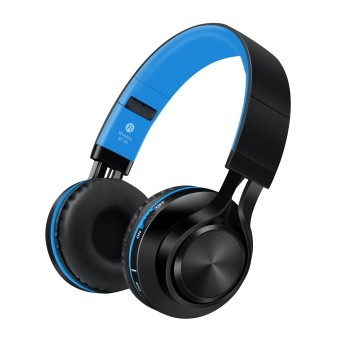 Sound Intone BT-06 Bluetooth Over-The-Ear Headphone (Blue)
