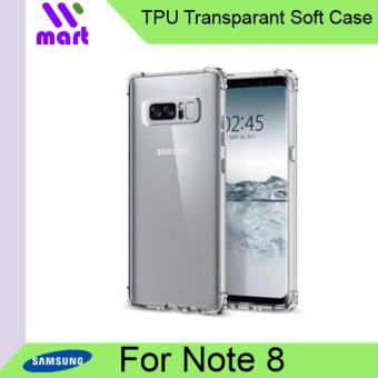TPU Transparent Soft Case for Samsung Galaxy Note 8