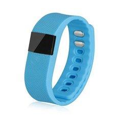 Tw64 Bluetooth Smart Wristband Fitness Bracelet Watch (blue) - Intl