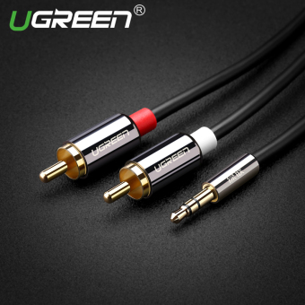 UGREEN 3.5mm Male to 2RCA Male Auxiliary Stereo Y Splitter Audio Cable (5m)