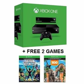Xbox One 500GB + Kinect Sensor Bundle + FREE 2 Downloadable Games