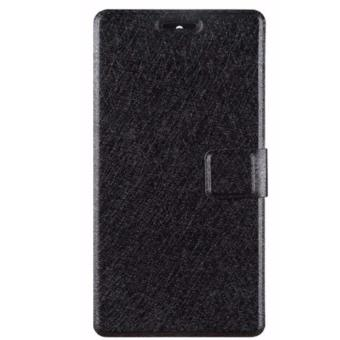 Xiaomi Mi Max Smart Leather Wallet Flip Case Casing Cover (Black)