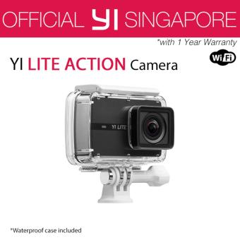 YI Lite Action Camera (with Waterproof Housing) Black