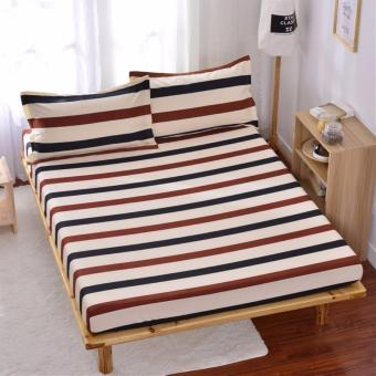 1.2m Super Single Bedsheet - Stripes Design Bed Sheets