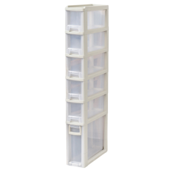 15cm plastic organizing bathroom kitchen shelf Cabinet