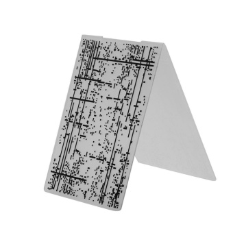 1pc Plastic Embossing Folder Template For Scrapbooking DIY Photo Album Card Tool - intl