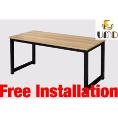 UMD (140L*60D*75Hcm) study table study desk computer table computer desk