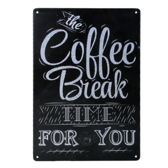 20x30cm Vintage Metal Tin Sign Plaque Wall Art Poster Cafe Bar Pub Coffee #3