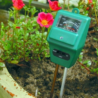 3in1 Soil Moisture Sunlight PH Meter Tester Plant Digital Analyzers - intl