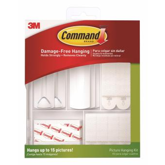 3M(TM) Command(TM) Picture Hanging Kit Value Pack - 17213
