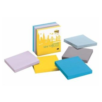 3M(TM) Post-it(R) Super Sticky Notes -New York Collection