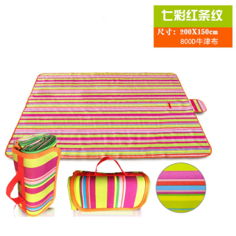 600d Park spring green waterproof * outdoor picnic mat