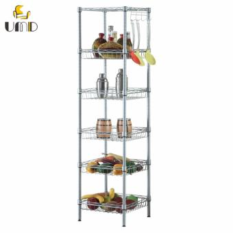 Anti-rust Height Adjustable Storage Rack