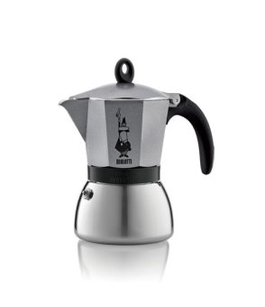 Bialetti Moka Induction Antharcite - 3 Cup