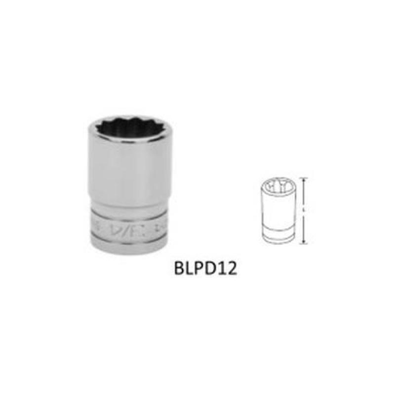 BluePoint 1/2 Double Hex Socket, Metric [BLPDM12]