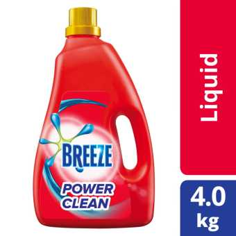 Breeze Power Clean Liquid Detergent 4kg
