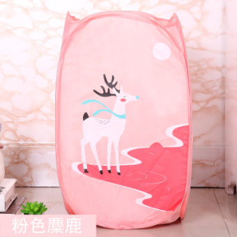 Cartoon large storage basket foldable laundry basket