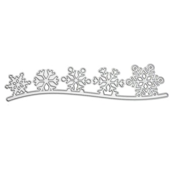 Christmas Snowflake Cutting Die Stencil Embossing Scrapbooking Album Craft - intl