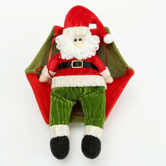 Christmas tree hanging decorations new parachute santa claus snowman - Christmas Tree Hanging Decorations New Parachute Santa