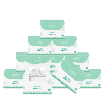 Cleansing beauty clean face wash 12 box Towel Paper face towel