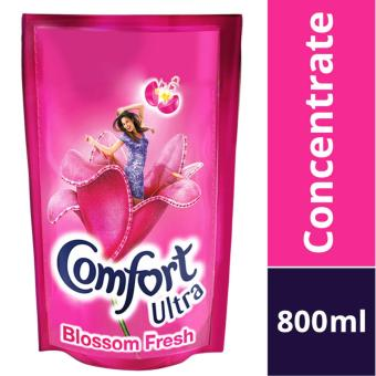 Comfort Concentrates Ultra Blossom Fresh Fabric Softener Refill Pack 800ml