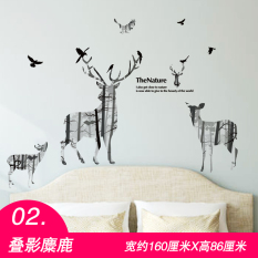 Cool Room Bedroom Wall Decorations Sticker Wall Adhesive Paper Part 42
