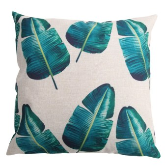 Creative Bamboo Pattern Cotton Pillow Cover